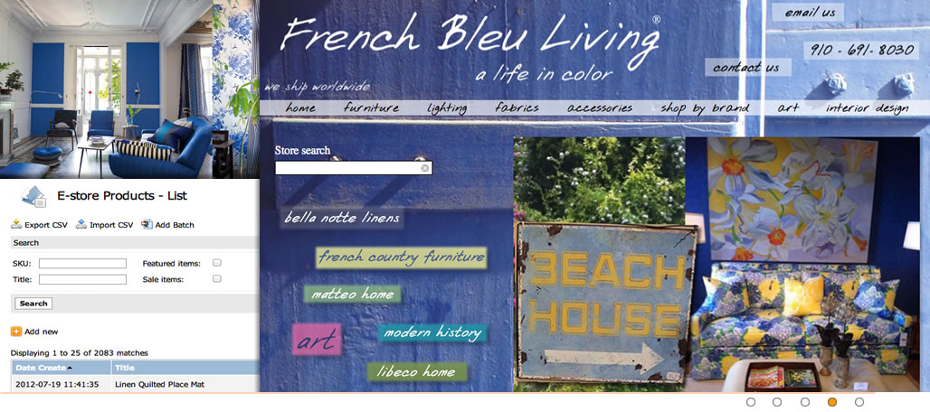 Tangram Media Case Studies French Bleu Living